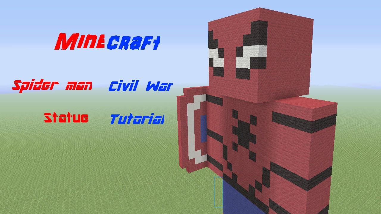 Spider Statue Minecraft Minecraft Spide...