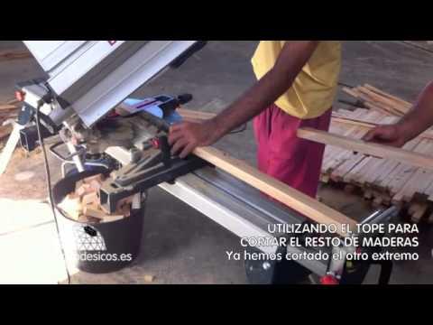 Tutorial Construcción Domo Geodésico - Utilizando el tope - VIDEO 4