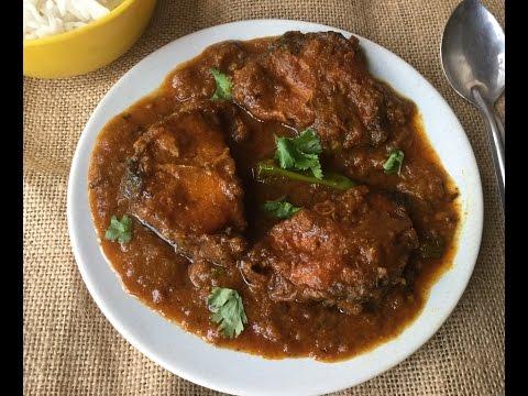 Bengali Rohu Fish Curry (Rui Macher Jhal) | Indian Non-Veg Recipe | Main Course - In Bengali Recipe