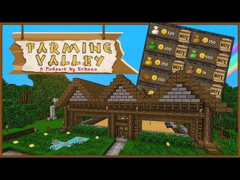 Minecraft Farming Valley - General Store! #3 [Mini Series]