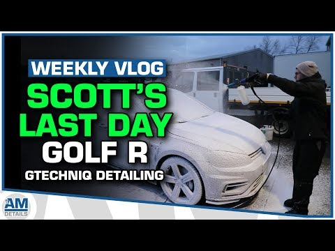 Scott's Last Day with AMDetails - VW Golf R