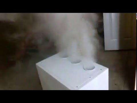Увлажнитель воздуха туманом для выращивания грибов вешенки