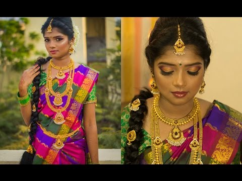 South Indian bridal makeup look | 2017 |  TAMIL BRIDE | Beauty Maven |