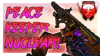 46 GUNSTREAK PEACEKEEPER NUCLEAR! - Black Ops 2 PC Nuclear - (Call of Duty: Black Ops 2)