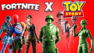 NEW FORTNITE X TOY STORY COLLABORATION AND NEW SKINS COMING TO FORTNITE - Gunner496