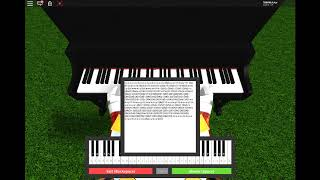 Girls like you-Maroon 5-piano ROBLOX + folha