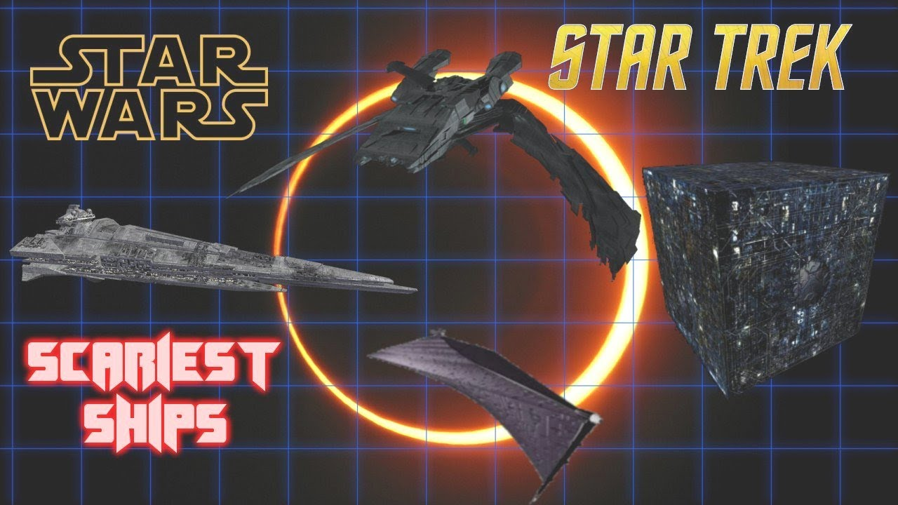 The Six Most Terrifying Ships in Star Wars and Star Trek
