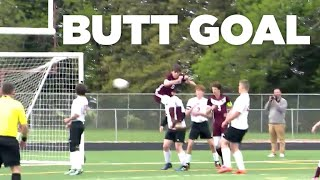 Caleb Dokter's Butt Goal