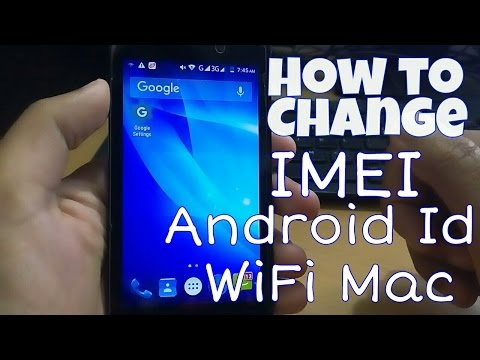 Change IMEI Android ID Advertising ID Wifi Mac (Hindi)