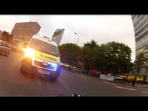 Crazy Ambulance Driver? - St Johns LK12FPT