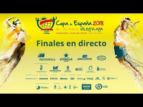 Finales Copa de España 2018 Masculina y Femenina Gran Canaria