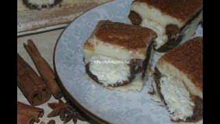 Пирог с пирог творожно-кокосовыми шариками