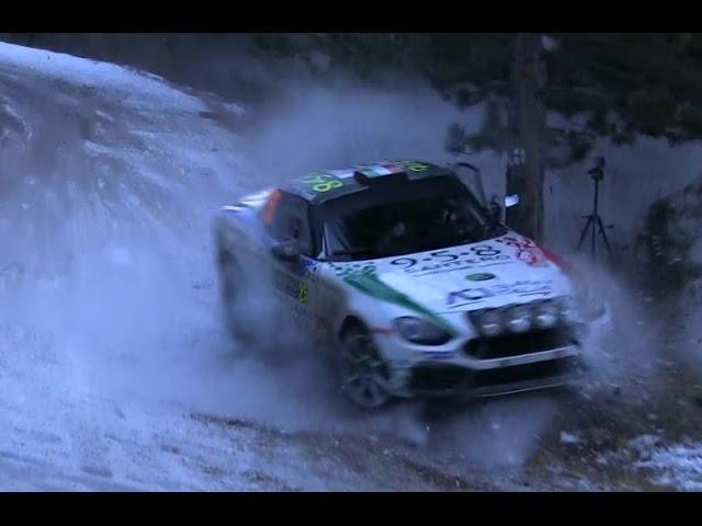 Monte Carlo Rallye 2017.friday CRASH 1.-Lepold Sportvideo