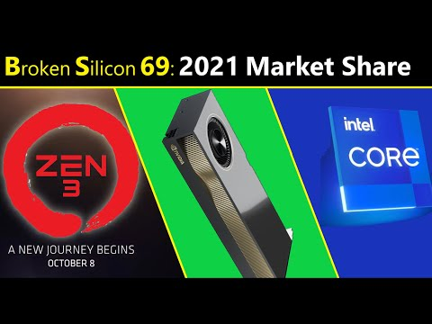 AMD Market Share 2021, Nvidia's Lead, Intel's Future | Semiconductor Analyst Chris Rolland | BS 69