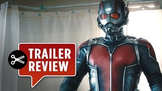 Instant Trailer Review: Ant-Man Official Teaser Trailer #1 (2015) - Paul Rudd Movie HD