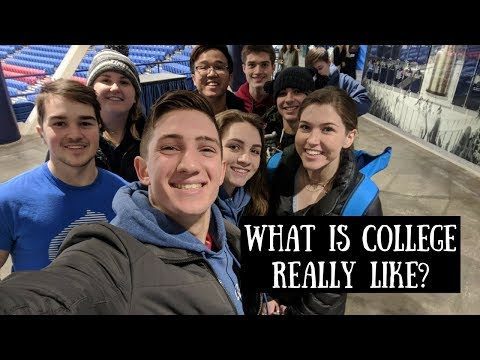 What is College Like? | Day in my Life at UNH!