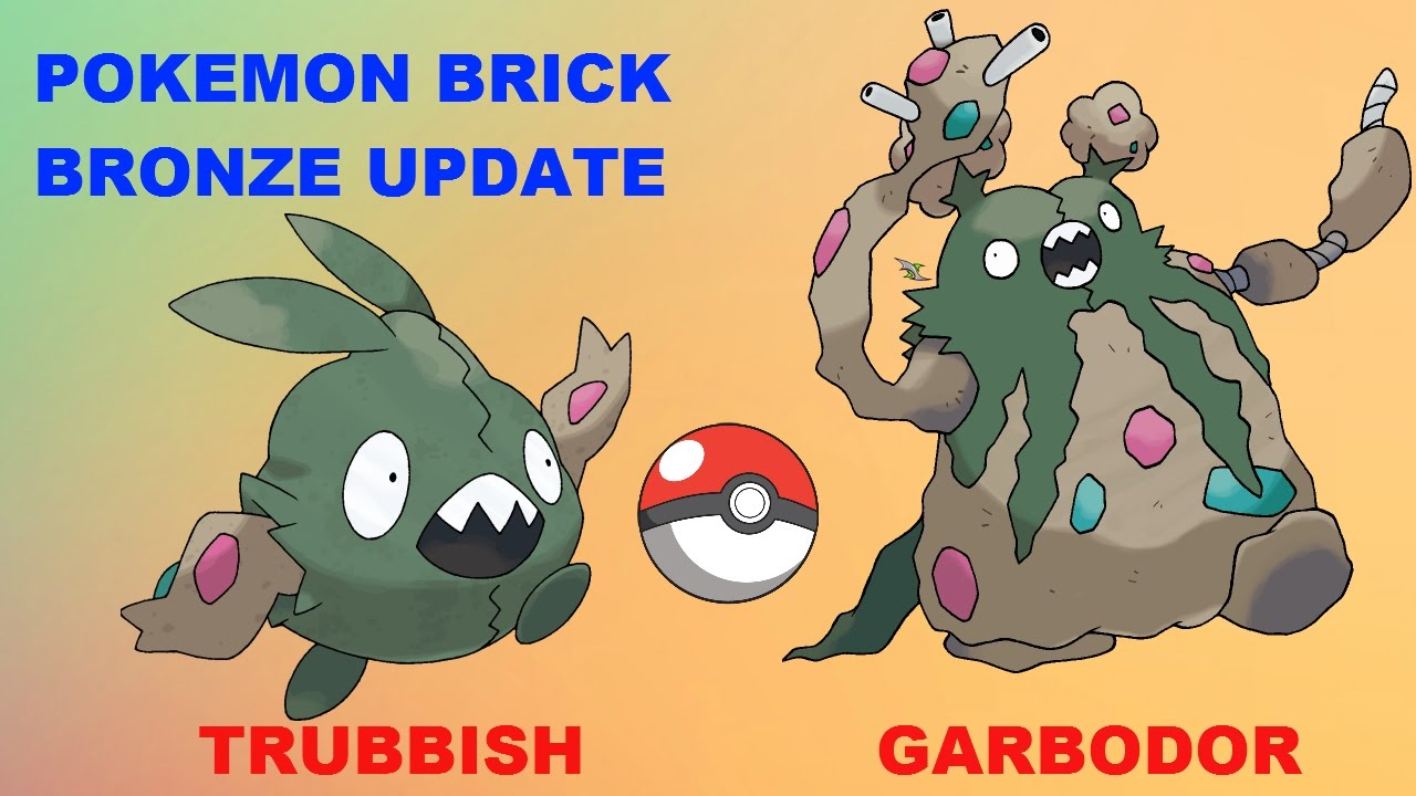 pokemon brick bronze how to get trubbish