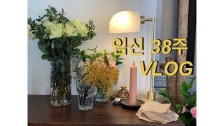 VLOG #22 임신38주 브이로그(신참떡볶이,버거킹,…