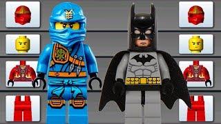 LEGO NINJAGO & BATMAN BUILD FLYING CAR, MONSTER TRUCK ✔ LEGO JUNIORS CREATE & CRUISE | LEGO Games
