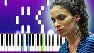 Yael Naim- New Soul (Piano tutorial)