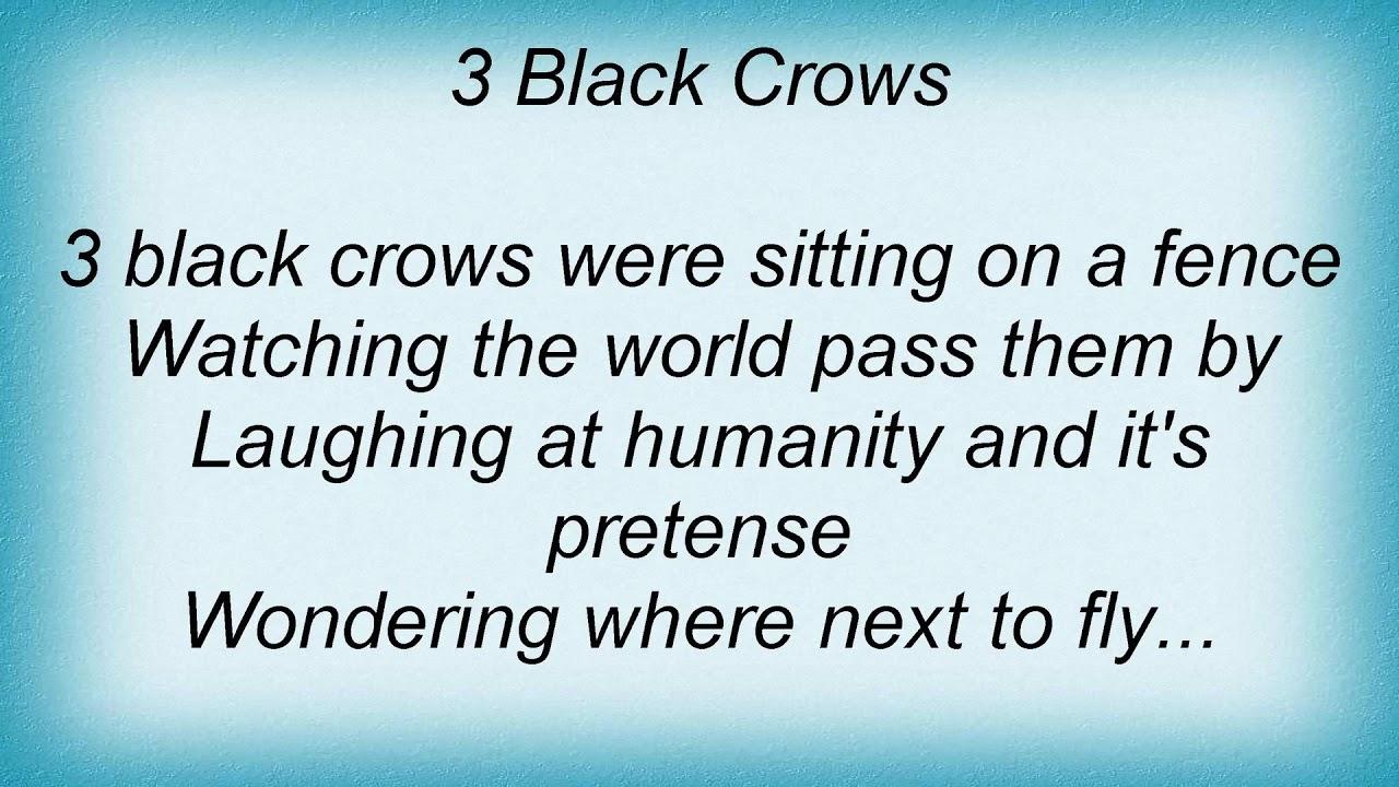 Les paroles de Blackmore Night Three Black Crows