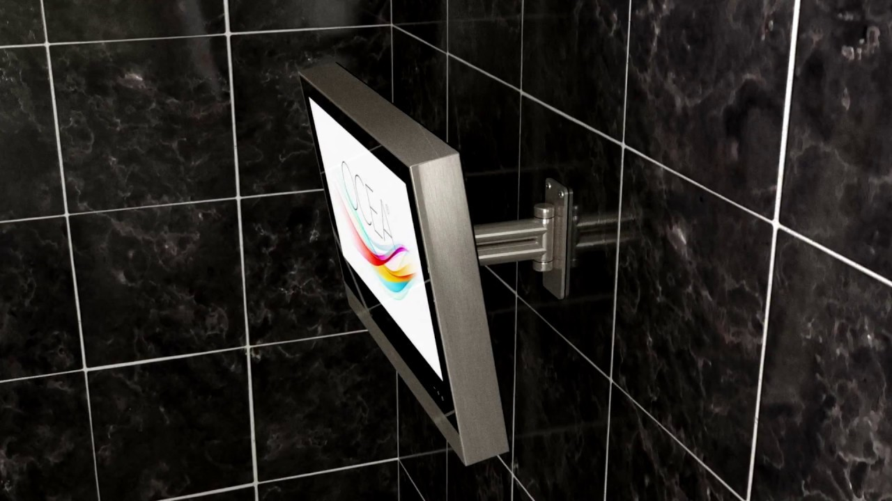 Ocea Bathroom TV. Watch TV In Your Bathroom