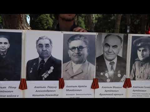 Тысячи людей посетили мемориал «Братские могилы» 9 мая