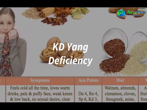 Kd Yang deficiency in TCM