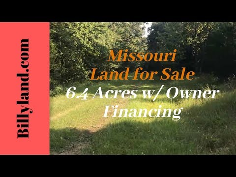 Cheap Missouri Land For Sale 6.4 Acres, Benton County, Owner Financing