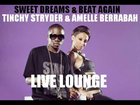Tinchy Stryder & Amelle Berrabah - Sweet Dreams & Beat Again (Radio 1 Live Lounge)