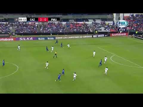 CONCACAF LIGA DE CAMPEONES CRUZ AZUL VS PORTMORE GOL DE JONATHAN BORJA