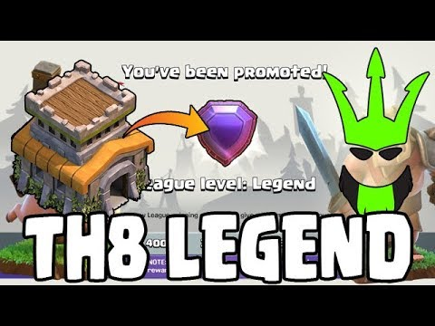 TH8 IN LEGENDS LEAGUE!