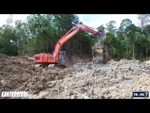 Tambang emas ilegal  di Tanah Aceh.