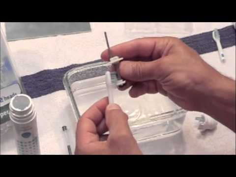 how to deep clean your sonicare toothbrush 640x360 youtube. Black Bedroom Furniture Sets. Home Design Ideas