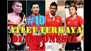 10 Atlet terkaya di indonesia 2017/2018 no 6 tidak disangka, Amazing