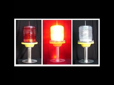 Aviation LED Obstruction Dual Light FAA FCC ICAO