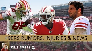 49ers Rumors: Kittle Playing vs. Packers? Dee Ford Injury + 49ers Toughest Schedule in NFL History?