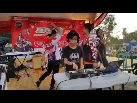 DJ Agung Junior, DJ Cilik di goyang