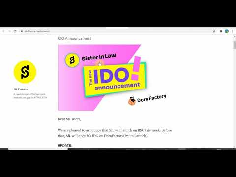How To Claim Part Of $15,000 Worth Sil.Finance Coin On CoinMarketCap Fas...