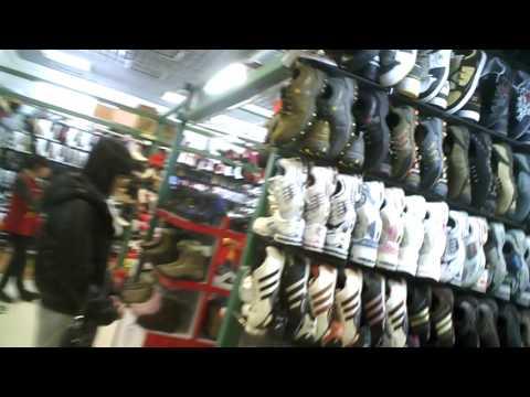 Hidden Cam Stroll though Silk Market BEIJING   Jan 11, 2011