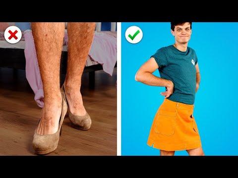 O-M-G! Fashion HACKS 👙 Jangan Hanya Berpura-pura Keren- 11 Ide Pakaian DIY dan Trik Modis