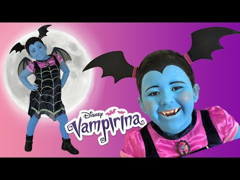 Disney Junior Vampirina Makeup Halloween Costumes and Toys