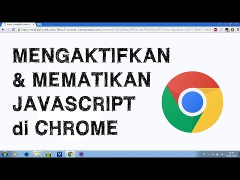 Cara Mengaktifkan Javascript Pada Google Chrome