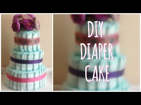 Diy Nappy Cakes How To Make