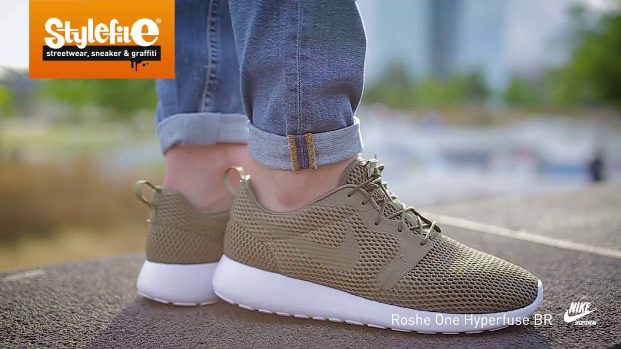 san francisco f3f8b b31d6 Nike Roshe One Hyperfuse Sneaker olive (On-Feet) Stylefile