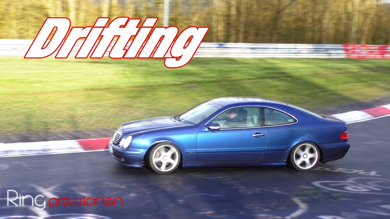 mercedes clk 230 kompressor n rburgring nordschleife drift touristenfahrten slow motion. Black Bedroom Furniture Sets. Home Design Ideas