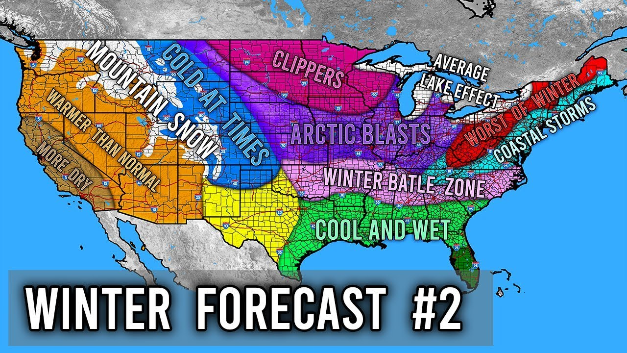 Accuweather Winter Forecast 2020.Winter Forecast 2019 2020 2