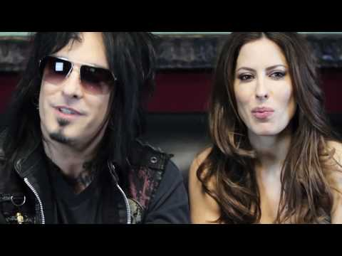 Nikki SIXX and Kerri Kasem- now on 100.7 WMMS