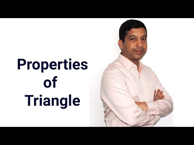 Properties of Triangle - The Sum of the Exterior Angles of a Polygon is 360 Degrees