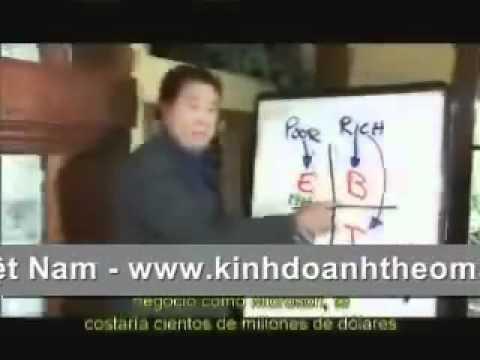 ROBERT T KIYOSAKI tac gia sach day con lam giau noi ve KDTM   YouTube